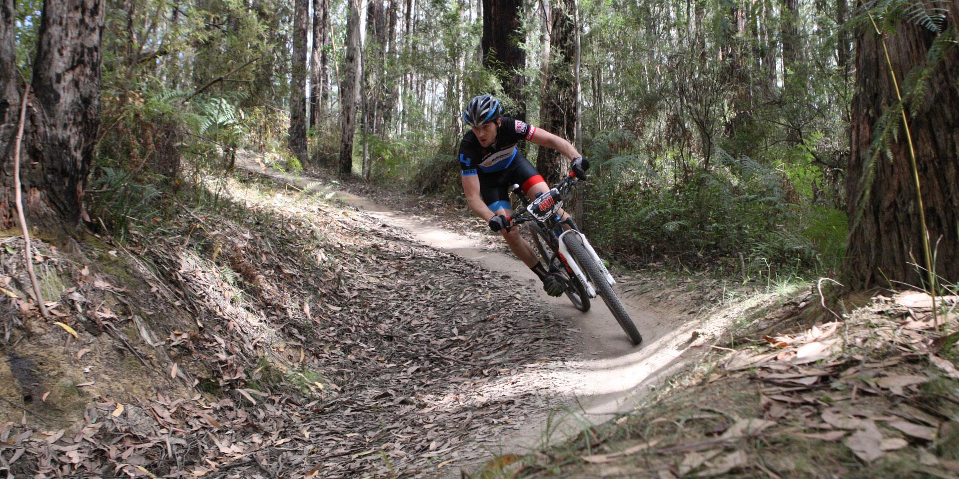 Sådan træner du dig op til cykling i skoven