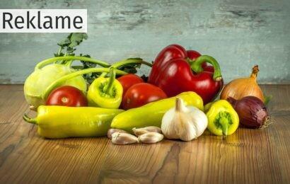 Fokusér på grøntsagerne og tab dig